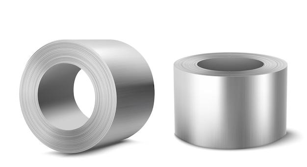 Rolos de aço, indústria metalúrgica pesada