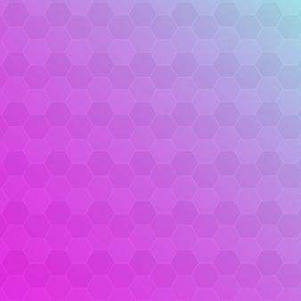Rosa abstrato e fundo roxo hexágono