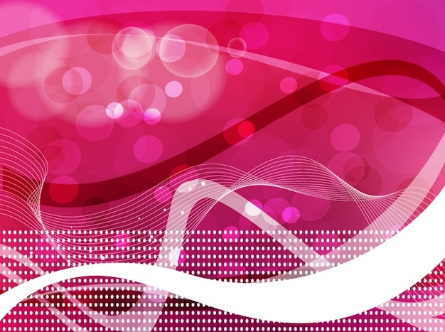 Rosa imagem radiante bolhas