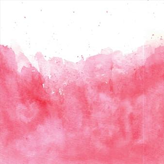 Rosa vermelha abstrata mão pintada fundo splash