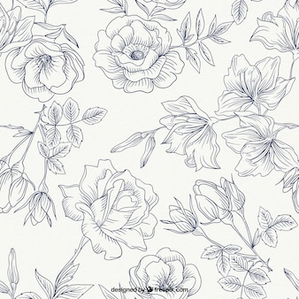Rosas primavera pattern