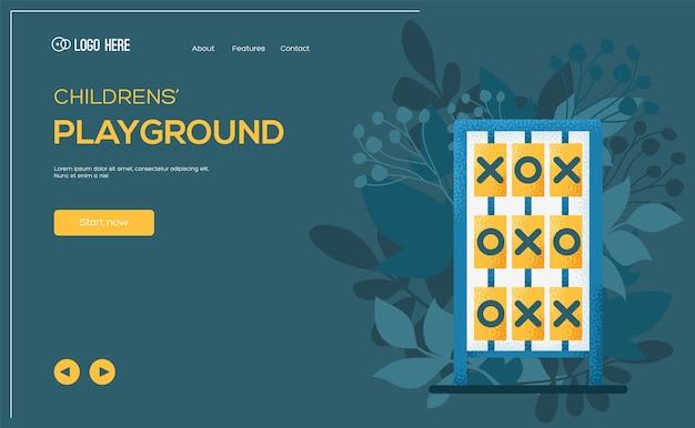 Ð¡ross-zero concept flyer, web banner, ui header, enter site. .