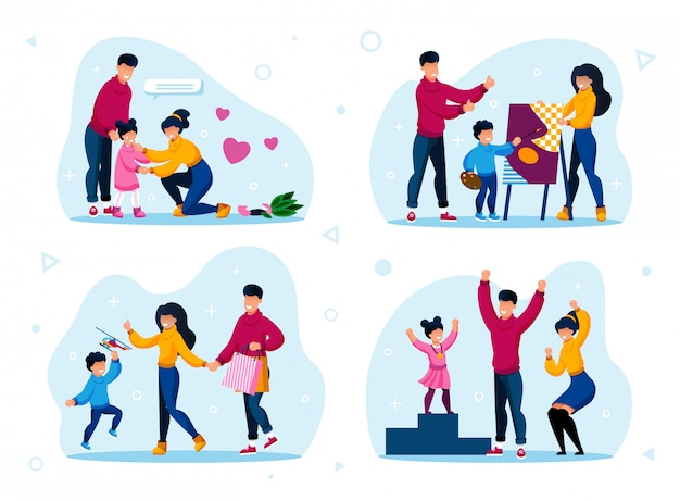Rotinas de vida familiar e tipos de atividades