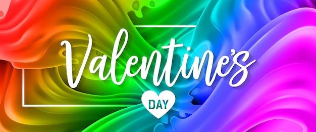 Rotulação do dia dos namorados com coração
