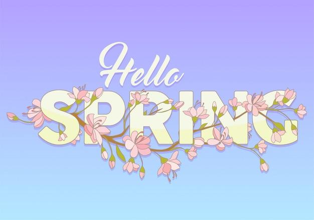 Rotulando a temporada de primavera