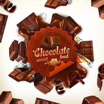 Rótulo de chocolate