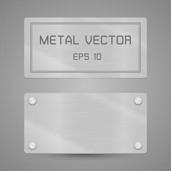 Rótulo de metal