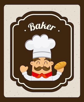 Rótulo de padaria