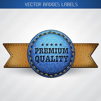 Rótulo de qualidade premium