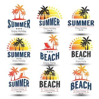 Rótulo de verão