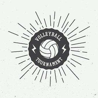 Rótulo de voleibol