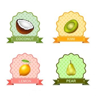 Rótulo para frutas