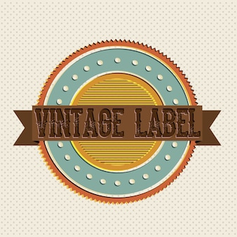 Rótulo vintage