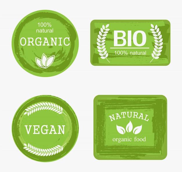 Rótulos de alimentos orgânicos