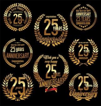 Rótulos de aniversário
