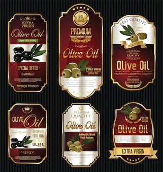 Rótulos de azeite de oliva
