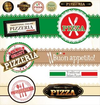 Rótulos de pizza