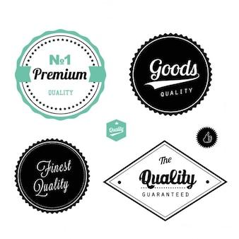Rótulos de qualidade premium
