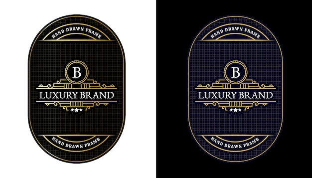Rótulos de uísque com logomarca tipografia para cerveja uísque álcool bebidas embalagens de garrafas gravura