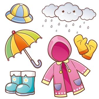 Roupas de chuva