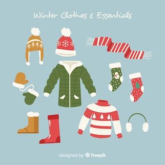 Roupas de inverno e acessórios