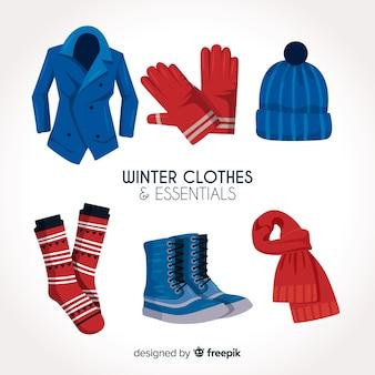 Roupas de inverno e essenciais