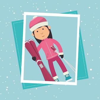 Roupas e acessórios para esportes de inverno