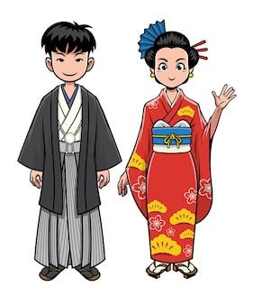 Roupas tradicionais do japão