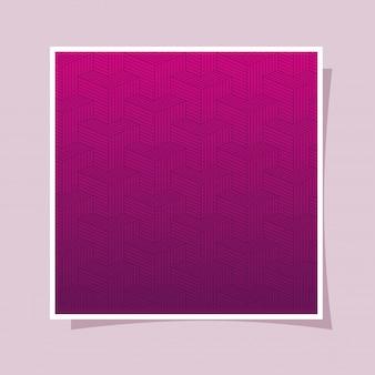 Roxo com gradiente rosa e padrão