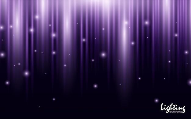 Roxo na moda gradiente com luz de fundo