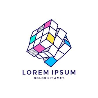 Rubik logo crypto blockchain