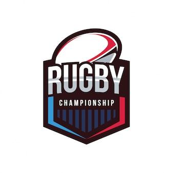 Rugby championship logo, american logo sport