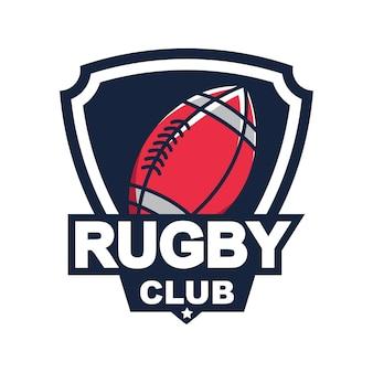 Rugby logo, american logo sport