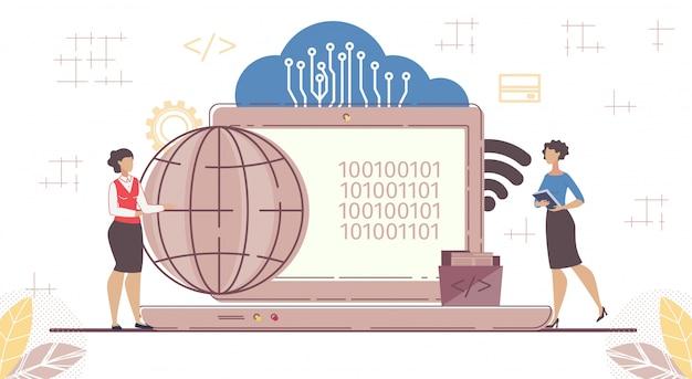 Saas, software em nuvem, código para acesso sob demanda
