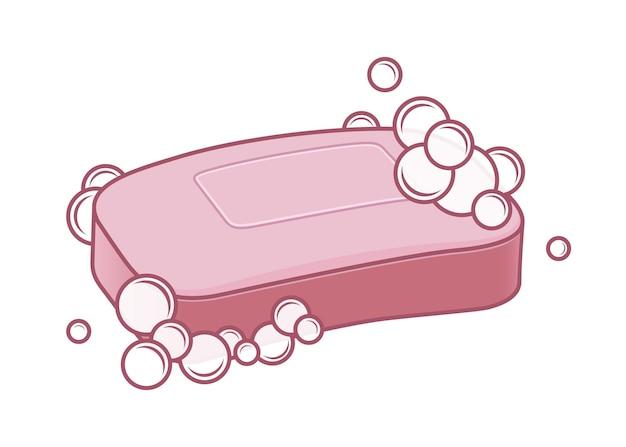 Sabonete com espuma