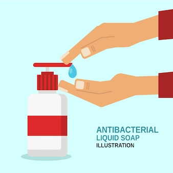 Sabonete líquido antitabacial