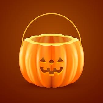 Saco de doces de halloween realista