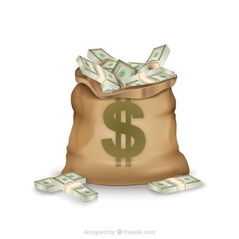 Saco do dinheiro