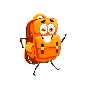 Saco escolar de desenho animado, personagem mascote de mochila escolar