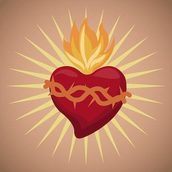 Sagrado coração abençoado