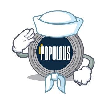 Sailor populous cartoon person character