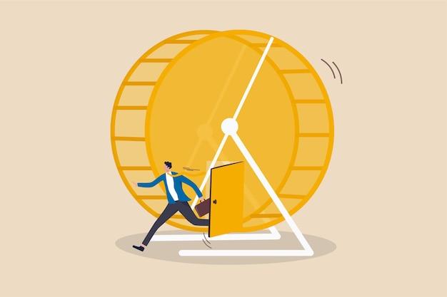 Sair da corrida dos ratos, quebrar a rotina de trabalho, escapar do conceito de ambiente de trabalho diário decepcionante