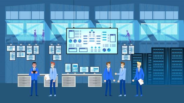 Sala de análise de big data