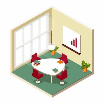 Sala de conferências isométrica