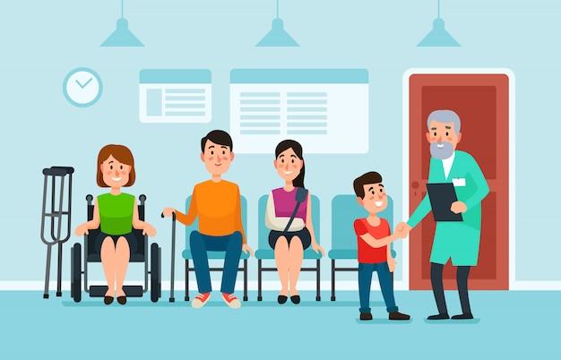 Sala de espera do doutor