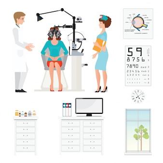 Sala de oftalmologista