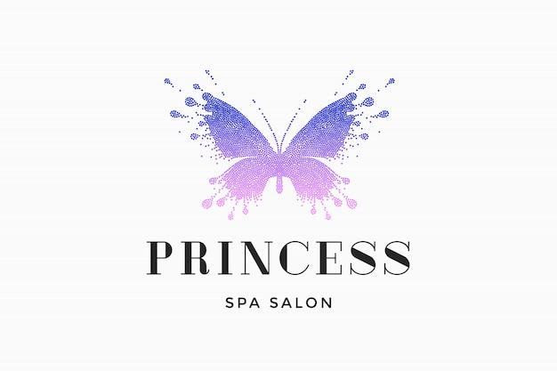 Salão de beleza spa logo princess