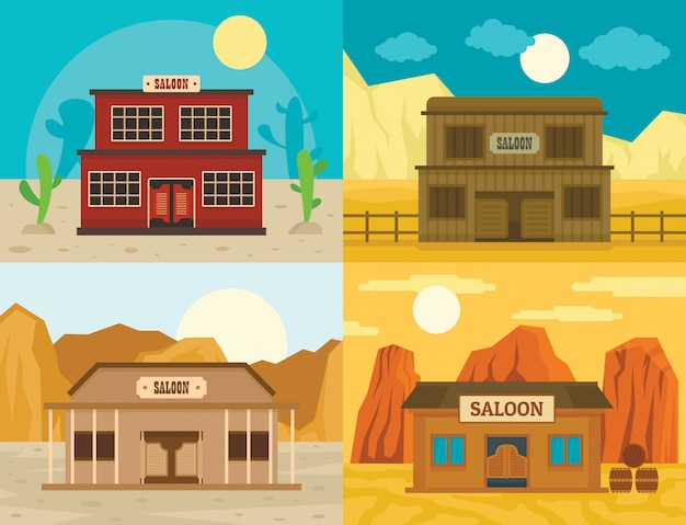 Saloon pub wild west