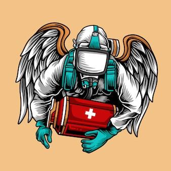 Salvador de vírus médico hazmat