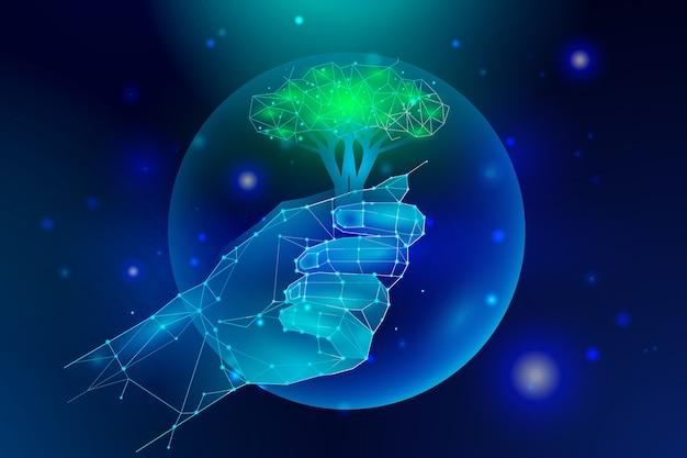Salvando a terra com tecnologia artificial